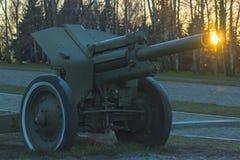 Canhão no parque Imagem de Stock Royalty Free