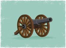 Canhão velho ilustração stock