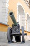 Canhão velho no Kremlin de Moscou Local do património mundial do Unesco Imagem de Stock Royalty Free