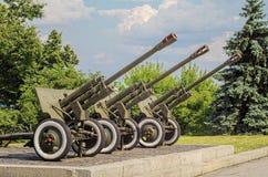 canhões Imagem de Stock Royalty Free