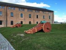 Canhões em Noruega Fotos de Stock