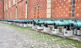 Canhões históricos velhos Imagens de Stock Royalty Free