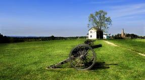 Canhões Manassas da guerra civil   Foto de Stock