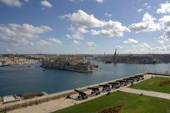Canhões no forte de Malta Foto de Stock Royalty Free