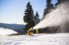Canhão da neve Imagens de Stock