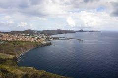Canicalschiereiland in Madera Stock Fotografie