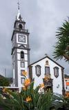 Canico教区教堂  图库摄影