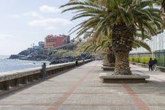 Canico de Baixo,马德拉岛 免版税库存照片