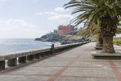 Canico de Baixo,马德拉岛 库存图片