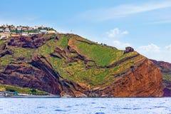 Canico, impressive cliff Royalty Free Stock Photo