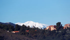 Canigou mountains in french Catalonia Royalty Free Stock Photography