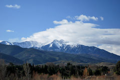 Canigou during winter Royalty Free Stock Image
