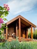Canil de madeira Foto de Stock