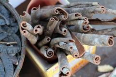 Canillas del canela Foto de archivo libre de regalías