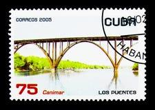 Canimar-Brücke, serie, circa 2005 Stockbild
