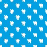 Canine tooth pattern vector seamless blue. Repeat for any use stock illustration
