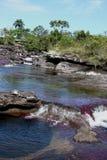 Canio Cristales góry rzeka Kolumbia Fotografia Stock