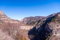 Canion Ρίο Leza Στοκ φωτογραφία με δικαίωμα ελεύθερης χρήσης