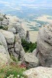 Canion in de Krim, de Oekraïne Royalty-vrije Stock Foto's