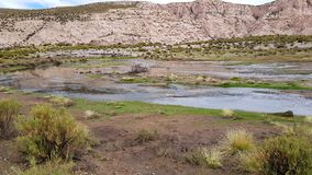 Canion del Rio Anaconda in het plateau van Bolivi? royalty-vrije stock foto's