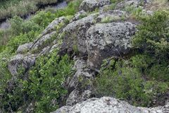 canion Granietrotsen royalty-vrije stock afbeeldingen