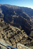 Canion Oman Royalty-vrije Stock Foto's