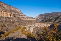 Canion Rio Leza Lizenzfreie Stockfotos