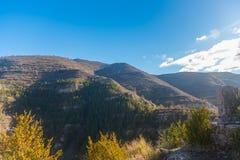 Canion Rio Leza. Amazing view of the Canion Rio Leza from spain Royalty Free Stock Photo
