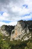 Canion van Pierre Lys in de Pyreneeën, Frankrijk royalty-vrije stock foto