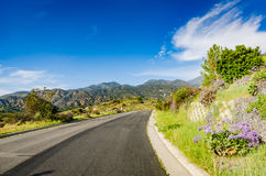 Canionweg - Oranje Provincie, Californië royalty-vrije stock fotografie