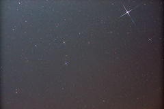 Canis de la constelación Imagenes de archivo