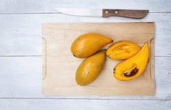 Canistel frukt Arkivbild