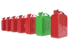 Canister, fuel jerrycan Royalty Free Stock Image