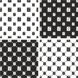 Canister for Gas or Oil Big & Small Seamless Pattern Set. This image is a illustration and can be scaled to any size without loss of resolution Royalty Free Stock Images