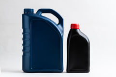 Canister with machine oil. Canister,machine oil,automobile,container,gallon stock photography