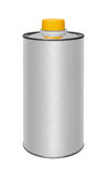 Canister. With machine oil isolated on white background Stock Images