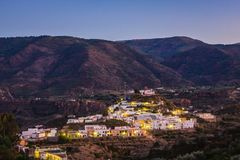 Canjayar, Almería, Las Alpujarras, Spain. Canjayar is situated in Spain, in the Andalucia region where it is within Almeria. A typical Spanish village in the Royalty Free Stock Photography