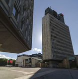 Cankarjev dom and TR3 Stock Photos