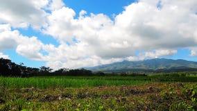 Canlaon Volcano timelapse stock footage
