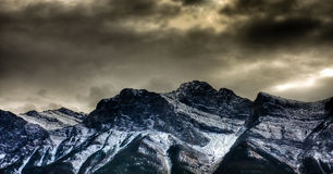 Canmore Fotografie Stock