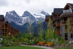 Canmore, Alberta, Canada royalty free stock photos