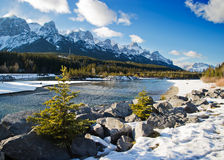 Canmore. Beautiful walk around canmore,  Beautiful Alberta Royalty Free Stock Photography