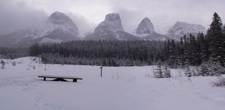 Canmore Panorama Royalty Free Stock Image
