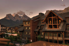 Canmore Resort Stock Photography
