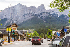 Canmore and the Rocky Mountains Royalty Free Stock Images