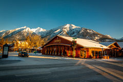 Canmore town Royalty Free Stock Image