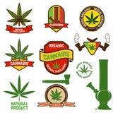 cannabis illustration libre de droits