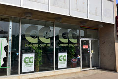 Cannabis Culture shop in Ottawa Royalty Free Stock Photo