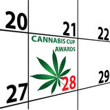 Cannabis Cup Awards Stock Photo