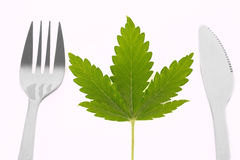 Cannabis diner Stock Photography